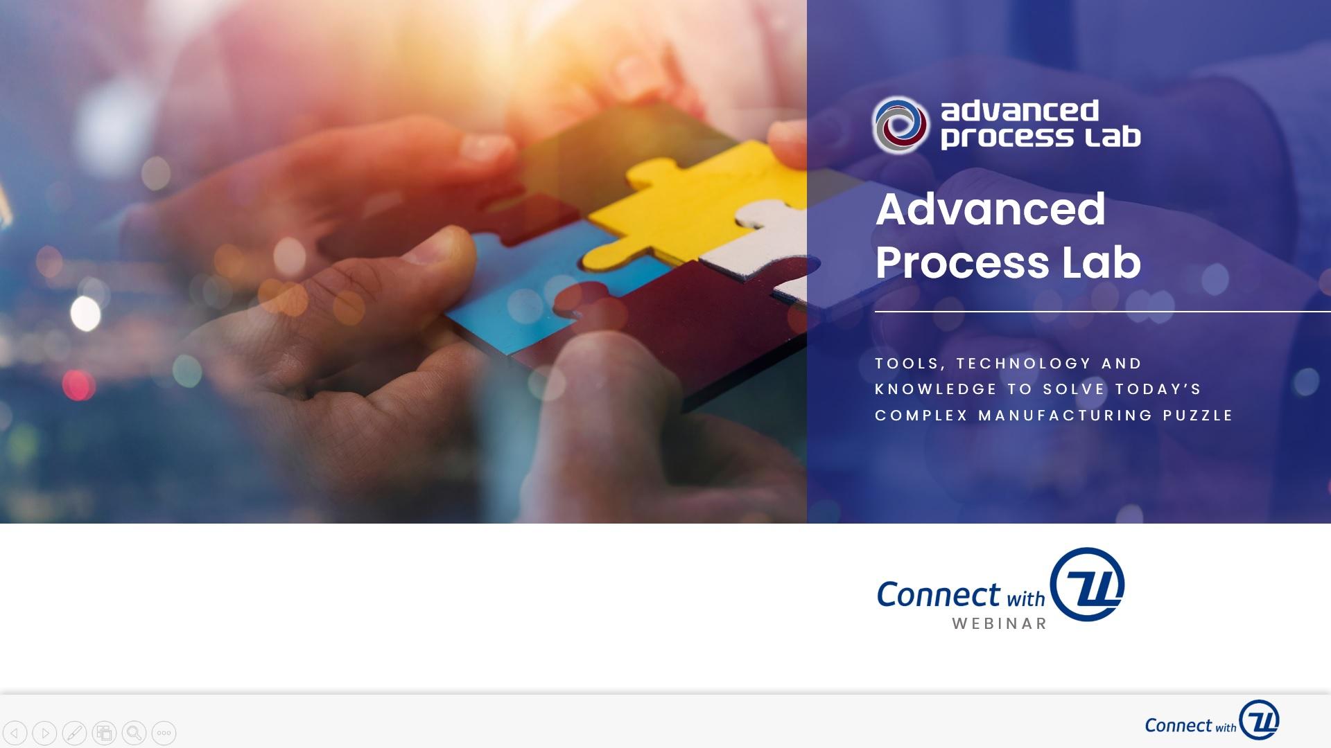 Advanced Process Lab Webinar